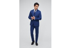 Italian Stretch Cotton Suit Jacket