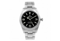 Rolex Explorer Stainless Steel Black Dial Automatic Mens Watch 214270